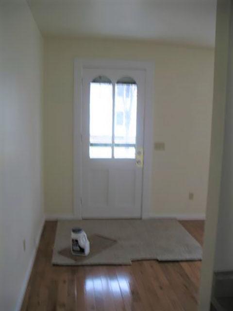 57 side Front entrance into LR