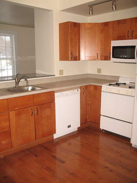 Kitchen  with pass through to livingroom