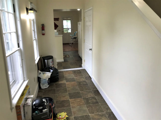 59 Looking from back entrance towards kitchen
